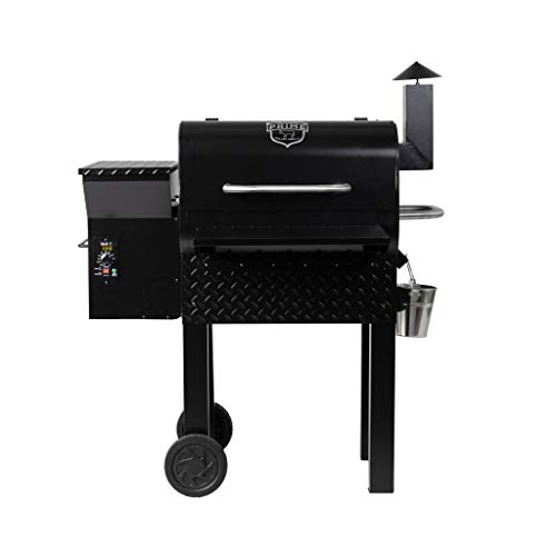 Prime Pellet Grills 81221 KC King 600 Electric Pellet Smoker, Black Electric GRILLS