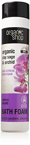 Bio Shop Violet orchidée anti-stress de bain en mousse, 500 ml