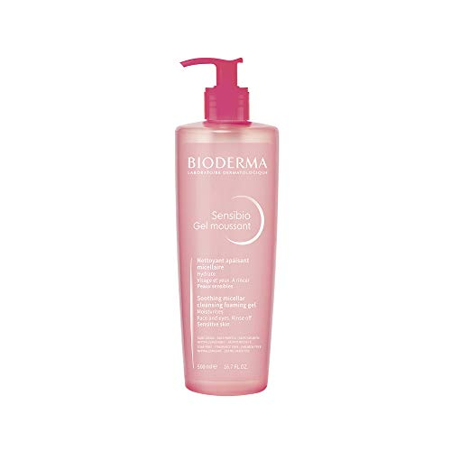 Bioderma Sensibio Micellar Cleansing and Makeup Removing Foaming Gel for Sensitive Skin