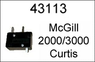 Curtis 2000/3000 Key Machine Part - New McGill Microswitch #43113