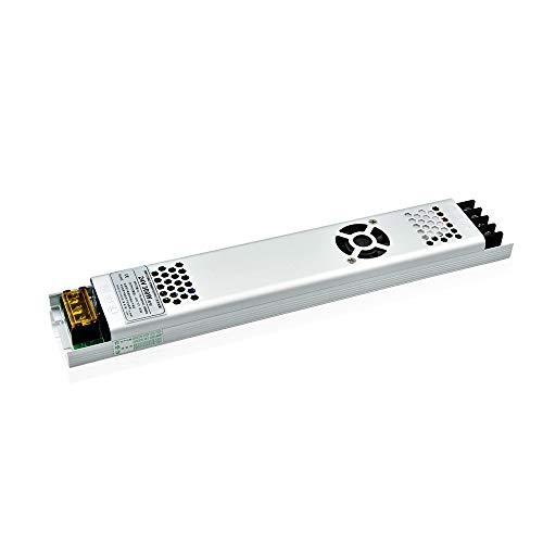 Bonlux 24V 300W 12.5A Impermeable Led Transformador de Potencia, Transformador de Voltaje 220V a 24V, Fuente de Alimentación para la Tira de LED