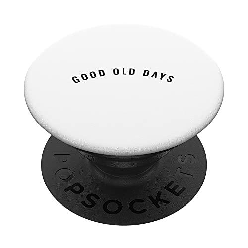 Good old days PopSockets PopGrip: Agarre intercambiable para Teléfonos y Tabletas