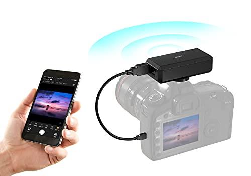 CamFi CF102 WiFi Control Remoto Stream Photos, DSLR Camera Assistant Control Remoto Inalámbrico Zoon Control Aperture Shutter, Fotografía de Alta Velocidad para Varias Cámaras