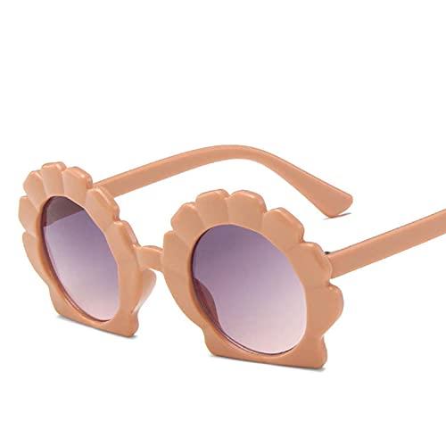 Taoyun Gafas de sol especiales lindas gafas de sol del color del bebé protección para la fotografía de playa