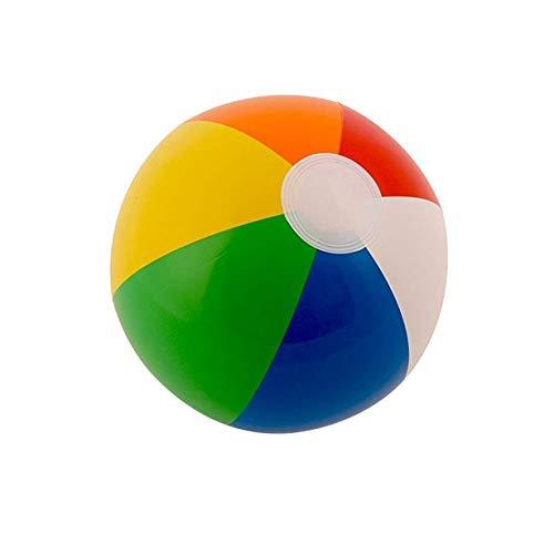 camellia® 30 Cm Farbe Aufblasbaren Ball Kinderspiel Wasserball 6 Farbe Strand Spielzeug Ball Wasserball Bunte (Bunte)