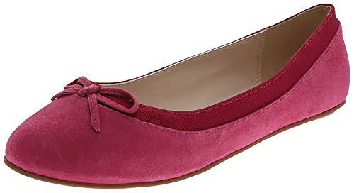 Buffalo Damen ANNELIE Geschlossene Ballerinas, Pink (Fuchsia 001), 38 EU