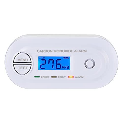 Scondaor Carbon Monoxide Alarm Detector EN 50291 Certified, CO Alarm...