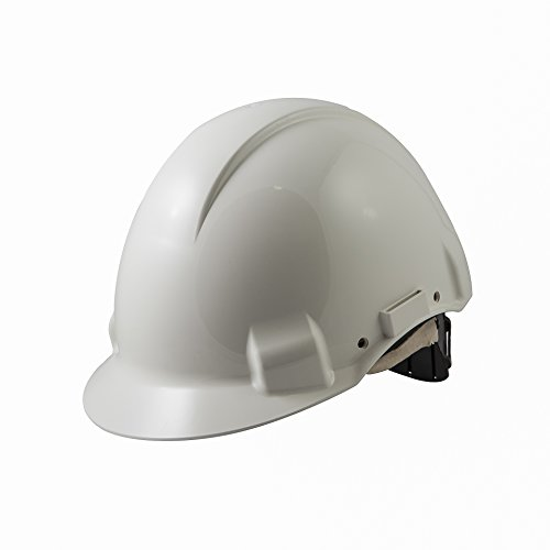 3M G3001DUV1000V-VI - G3001 Casco, sin ventilación, DIELÉCTRICO 1000V, blanco, con arnés estándar y banda sudor piel