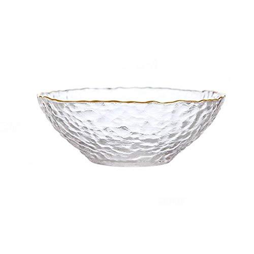 HJXSXHZ366 keramische schaal glazen kom, Phnom Penh ijsbloemenslakom Home Fruit Bowl soepkom, grootte optioneel