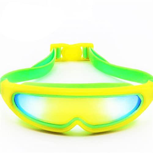 YWSZY Gafas Natacion, Gafas de natación a Prueba de Agua con Marco Grande Gafas de natación de Silicona Anti-Niebla Gafas de natación Adulto Arena Gafas (Color : 04, Eyewear Size : Other)