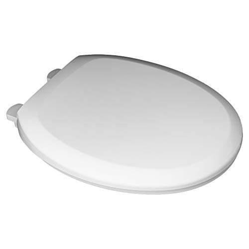 American Standard Champion 4 Slow-Close Round Closed Front Toilet Seat in White