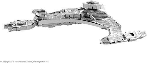Fascinations Metal Earth MMS283 - 502676, Star Trek Klingon VOR\'CHA, Konstruktionsspielzeug, 2 Metallplatinen, ab 14 Jahren