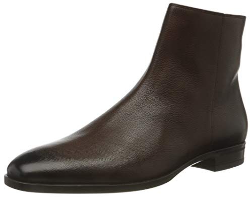BOSS Herren Kensington_zipb_gr Chelsea-Stiefel, Dark Brown202, 40 EU (6 UK)