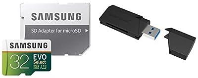 Samsung MB-ME32GA/AM MicroSDHC EVO Select Memory Card with Adapter