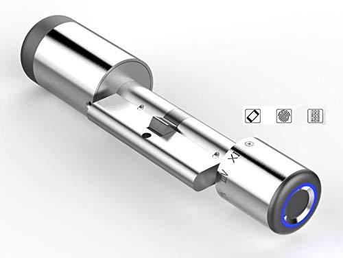 Smart Lock - Cerradura inteligente 3 en 1 (sin llave, control de acceso, NFC_Tarjeta, pin...