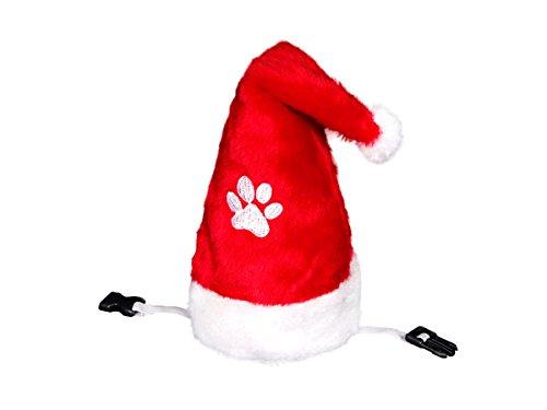 Alsino Très joli petit bonnet de Noel avec pompon pour chat ou petit chien wm-90