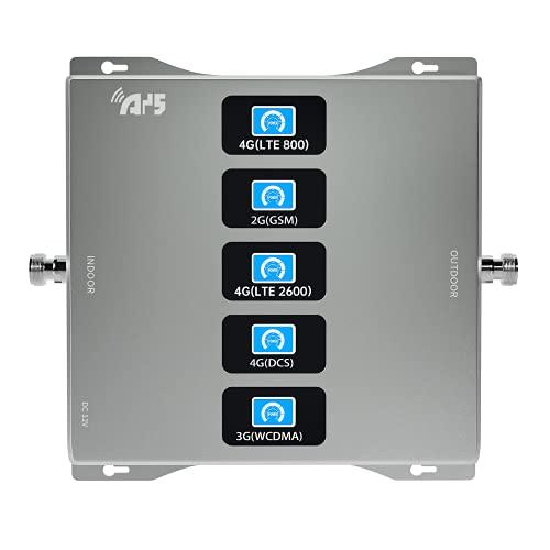 4G 3G 2G 5-BAND amplificatore del segnale LTE WCDMA GSM BAND 20 3 8 1 7 (antenna non inclusa)
