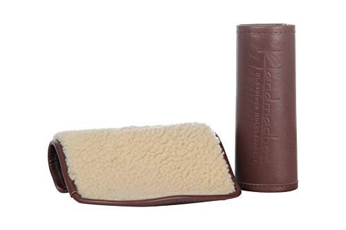 Handmacher Handmacher Polierhandschuh   Qualität und Pflege Lederschuhe   Farbe Braun