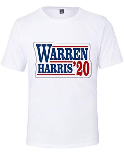GAOFANG Joe Biden - Camiseta de Manga Corta para Hombre y Mujer con impresión 3D,White 1,M