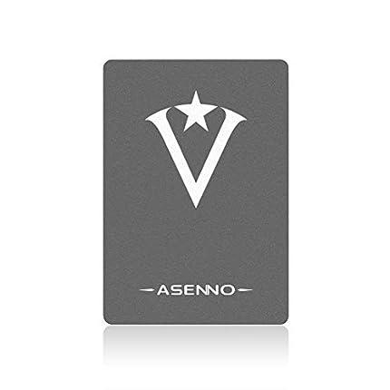 ASENNO 480GB 512GB 500GB 2,5 Pulgadas SSD con 512MB de Memoria SATAIII 6 GB/s de Disco Duro Interno de Estado sólido para Notebook Tablet PC de Escritorio(480GB)