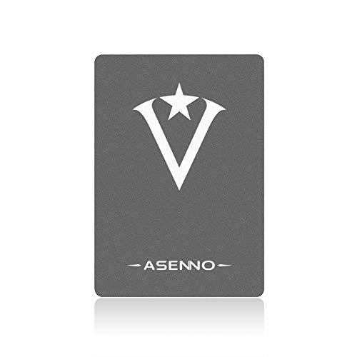 ASENNO SSD 480 Go 512 Go 2.5 Pouces SSD avec 512 Mo de Cache SATAIII 6 Go/s Disque Dur Interne à Semi-conducteur pour Ordinateur Portable Tablette PC