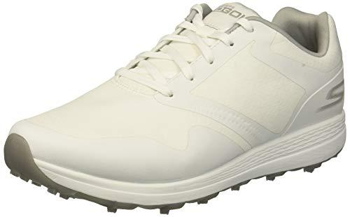 Skechers Go Golf Max - Fade Damen Golfschuhe Weiss/Grau 39.5