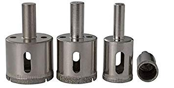 DORLIONA 18mm : 1pclot 3/5/6/8/10/12/14/15/16/18/20/21/22/23/24/25-38mm Diamond Coated Hole Saw Cutter core Drilling Drill bits Glass Tile 319