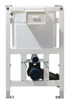 WC-Element VIS f.Trockenbau m.UP- Spülk.9l Bet.oben/vorne BH:820mm