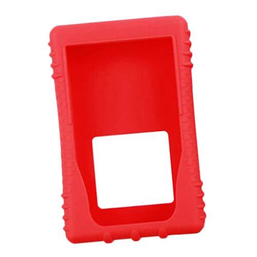 perfk Schutzfolie Für RF Explorer Handheld Spectrum Analyzer, Rot
