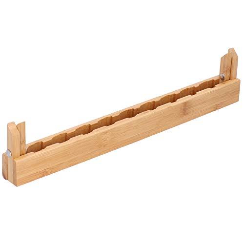 Asixxsix Estantes para gabinetes de Cocina, escurridor de Platos Plegable, escurridor de Platos para Utensilios, escurridor de(Bamboo Triangle Nine Grid Cup Holder)