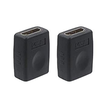 VCE HDMI Coupler HDMI Female to Female Connector 4K HDMI to HDMI Adapter 2 Pack