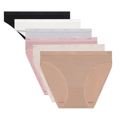 Dim Les Pocket Ecodim Slip X6 Bragas, Multicolor (Lot Basique), 36 (Talla del Fabricante: 36 Taglia Produttore 36/38) (Pack de 6) para Mujer