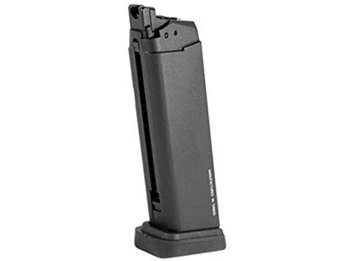 KWA ATP GBB Airsoft Pistol Magazine, 23 Rds,Color/Black