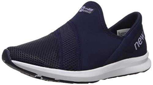 New Balance Women's FuelCore Nergize Slip-On V1 Sneaker, Pigment/Clear Amethyst, 10 W US