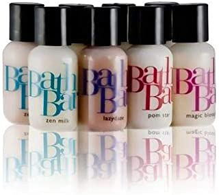 Natural Lotion & Body Wash Deluxe Sample Pack - Includes (8) One Ounce Bottles - BATH BAR by Good JuJu Apothecary Popular Scent Collection USA Handmade