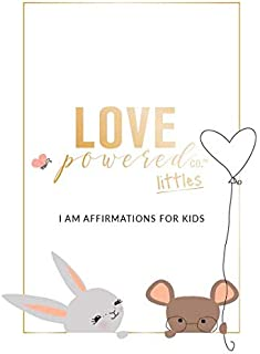 LOVE POWERED LITTLES AFFIRMATION CARDS FOR KIDS