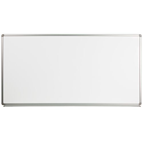Flash Furniture 6' W x 3' H Magnetic Marker Board