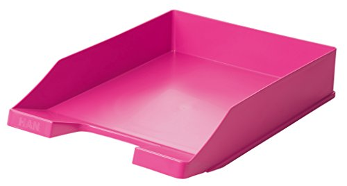 HAN 1027-S-56, Briefablage KLASSIK, Trend Colour, Modern, Schick und Hochglänzend, 6er Packung, pink
