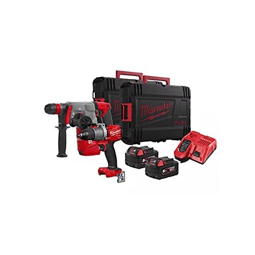 Milwaukee M18FPP2V2-602X 18V paquete doble con 2 baterías de 6.0Ah y cargador en casos 4933478790