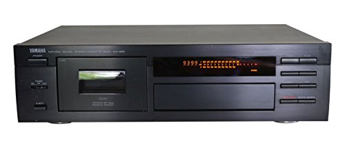 Yamaha KX-490 Kassettendeck in schwarz