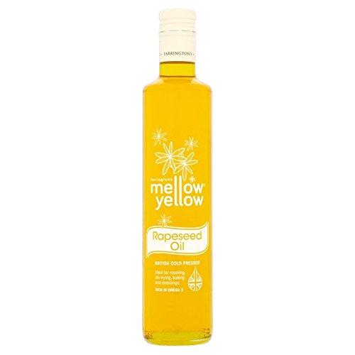 Mellow Yellow Fría de Farrington presionado Aceite de Colza 500ml