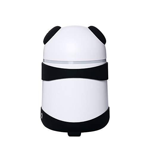 JSQU Humidificador de Aroma de Boquilla de Niebla Doble/purificador de Aire del Coche/PP, ABS, Carga humidificador Exquisito de 150 ml/hogar, automóvil, Oficina, habitación de bebé-Black