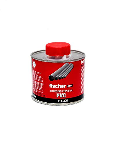 Fischer Adhesivo PVC (Lata 500 ml), 097976, Translucida