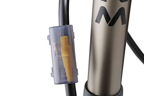 Vandorm Super Lite Alloy Bicycle Lightweight Presta Schrader Universal Bike Tyre Inner Tube Track Pump & FREE Tool Pod Airbed Football Adaptor