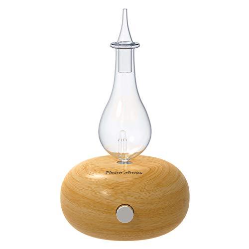 PLUZEN Diffuseur nebulisateur d'huile essentielle. Aromathérapie par nébulisation sans eau et à froid respectant les qualités thérapeutiques des huiles essentielles. Nébuliseur électrique H166155.