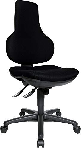 Preisvergleich Produktbild Topstar® EPO20 BC0 Brodrehstuhl Ergo Point SY,  schwarz