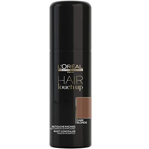 L'Oréal Professionnel Paris, Touch Up Spray Ritocco Colore Capelli, Biondo Scuro, 75 ml