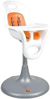 Boon Flair High Chair - White Chair + Orange Pad