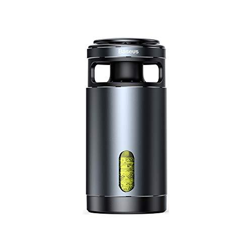 TUTOU Luftreiniger, Auto Control Plus Air Quality Monitor Für Desktop-Und Auto Entfernt Staub Pollen Rauch Geruch,Schwarz