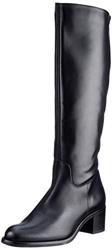 Tamaris Damen 1-1-25569-25 Kniehohe Stiefel, schwarz, 38 EU